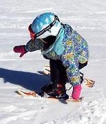 Как подготовить малыша к катанию на лыжах?