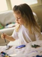 Нетрадиционное рисование для 2-3 летних малышей