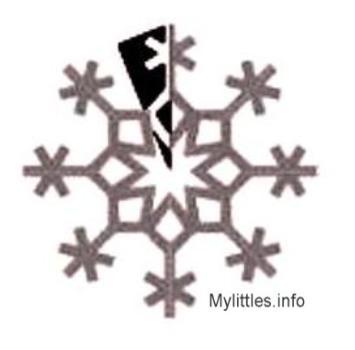 Как сделать красивую снежинку